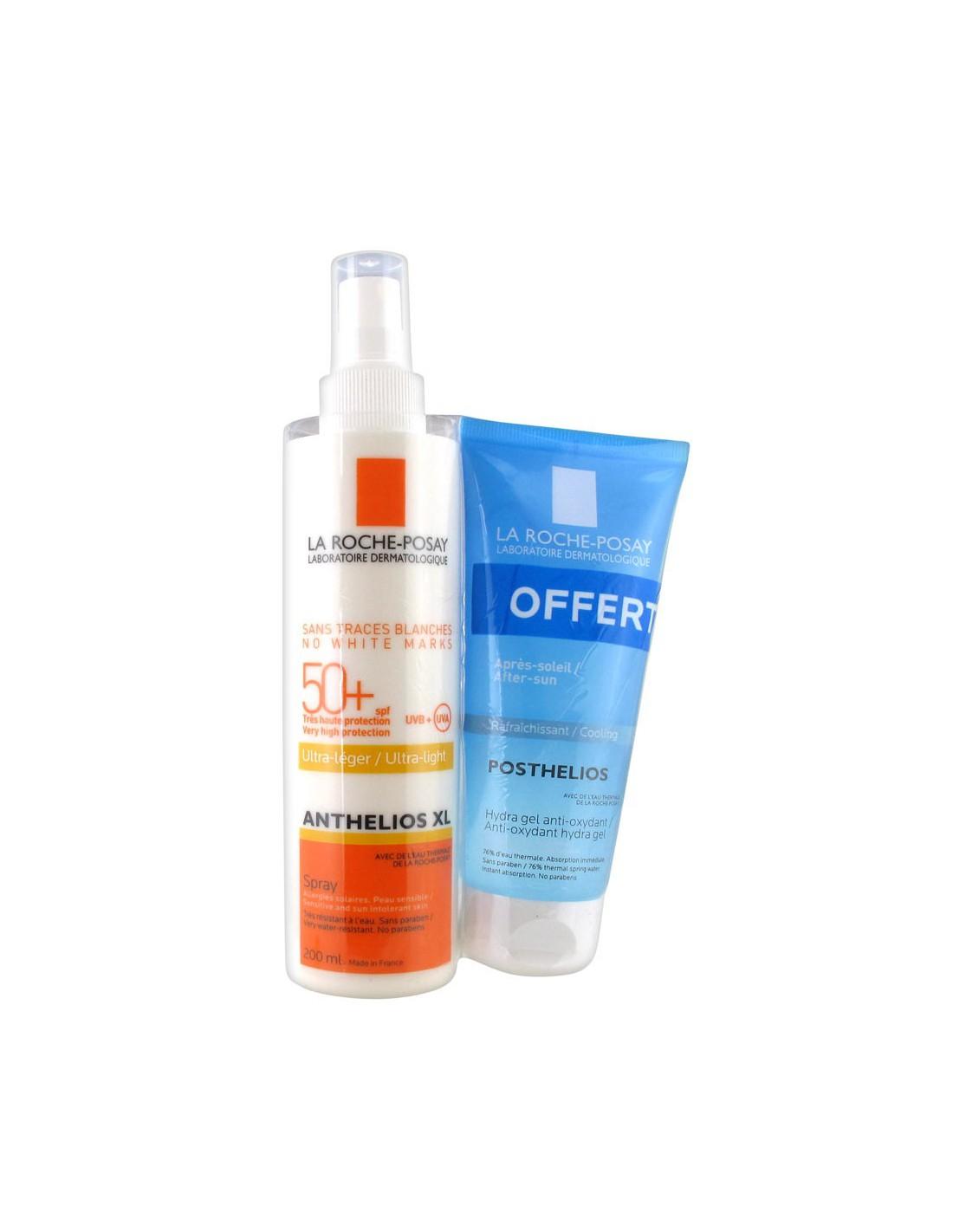 Anthelios XL Ultra-Léger Spray SPF 50+ 200ml + Posthelios