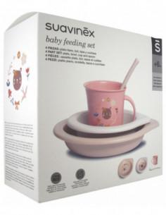 Suavinex Coffret Repas Rose...